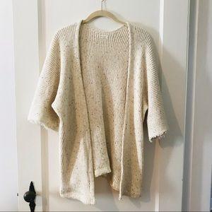 Beautiful open front knit kimono sweater